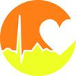 Herz Gesundheit Hintergrund EKG