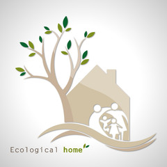 Ecological house_family