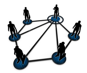 Business network. Corporate structure.