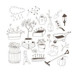 Doodle garden.