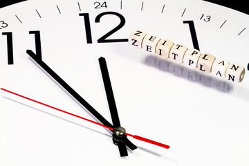 Zeitplanung