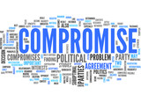 compromise (negotiation, discussion, conflict) poster