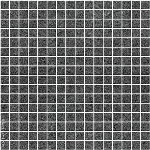 Illustration of dark Tile mosaic background for design