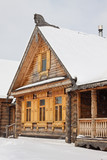Old wooden house in Russia