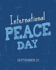 International Peace Day Poster
