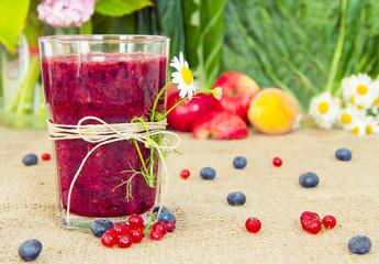 Delicious Berry Smoothie