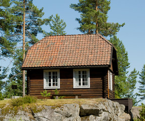 Old Norwegian house