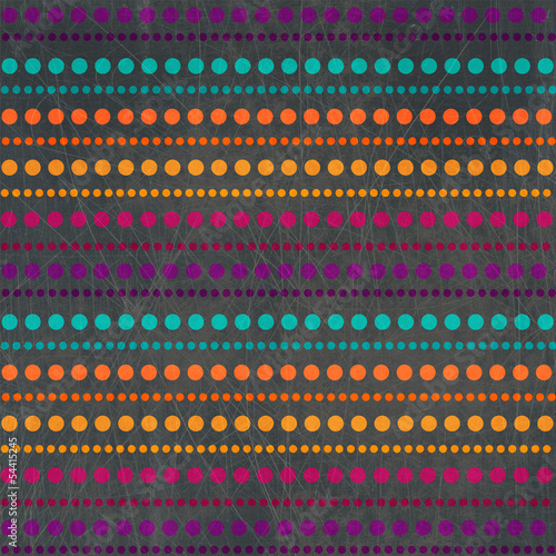 halftone retro striped pattern