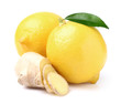 Ginger with lemon