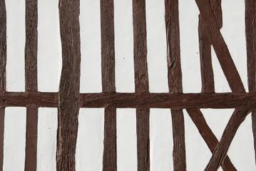 Mur à pans de bois