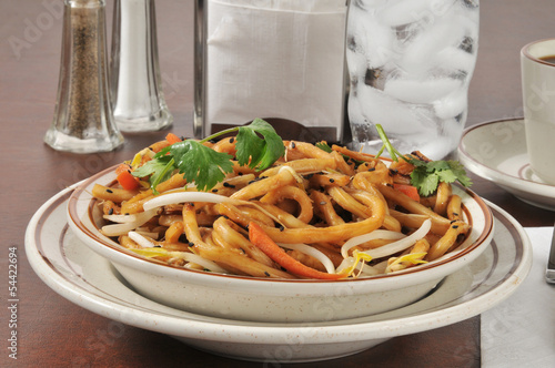 Bowl of Japanese pan noodles