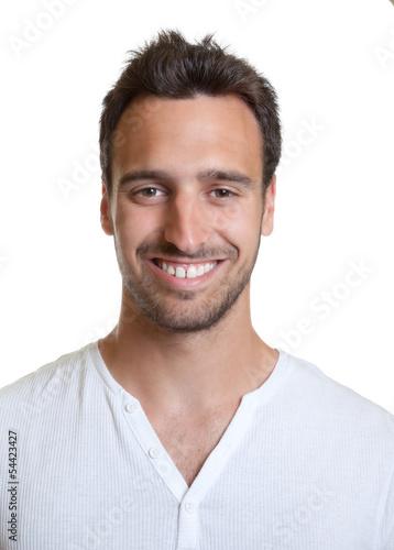 Portrait eines freundlichen Spaniers
