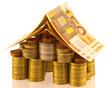 concept maison-argent, projet immobilier