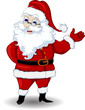 santa claus cartoon for you design