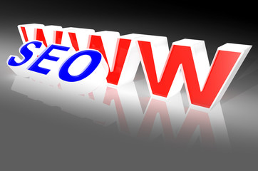 web search engine seo concept