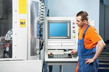 worker at tool workshop