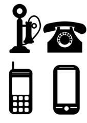 Telefon icons