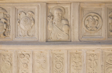 Mother Church. Roseto Valfortore. Puglia. Italy.