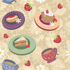 tea room pattern 2
