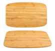 Cutting wooden board isolated
