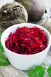 Grated beet