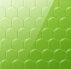 Glass vector geometric background