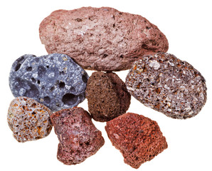 Specimens of pumice