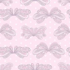 Pastel seamless pattern