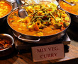 Mix vegetables curry