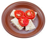 tomatoes and cheese