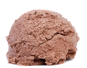Chocolate Ice Cream Scoop.