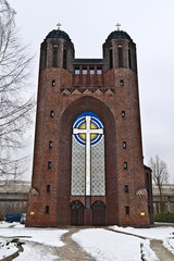 Kreuzkirche. Kaliningrad (until  1946 Koenigsberg), Russia