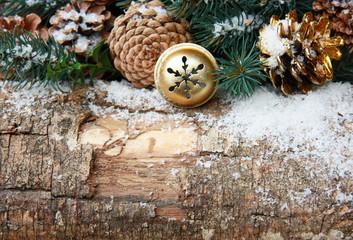 Holzhintergrund Weihnachten