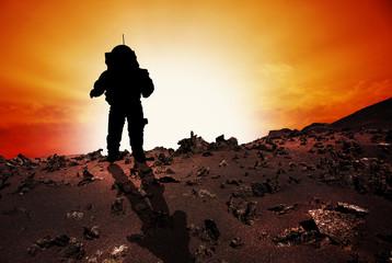 Astronaut to Mars