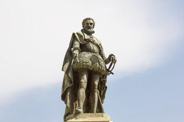 Statua di Carlo Emanuele I di Savoia a Vicoforte