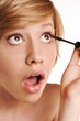 Make-up. Long Eyelashes