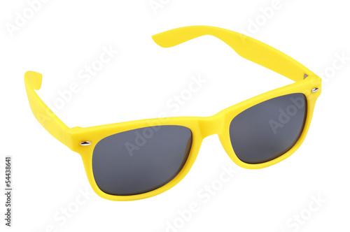 Gelbe Sonnenbrille - 54438641