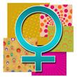 Colourful Female Symbol