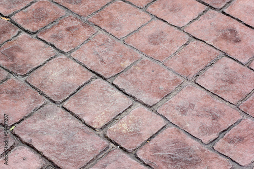 abstract block pavement background