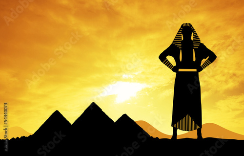 Pharaon in Egypt