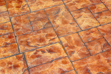 brown stone pavement background