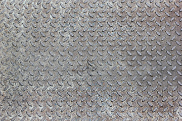 damage metal diamond plate