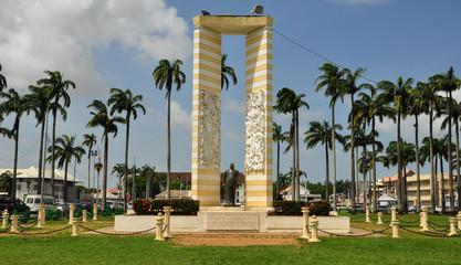 Cayenne place des Palmistes