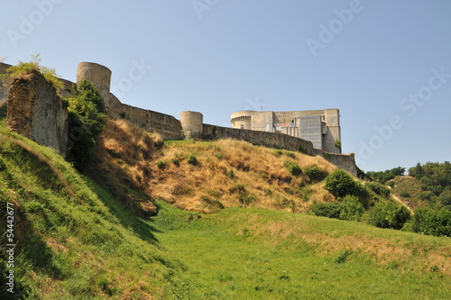Poster Donjon et fortifications, Falaise 5