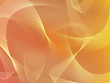 Abstract orange background with ribbons