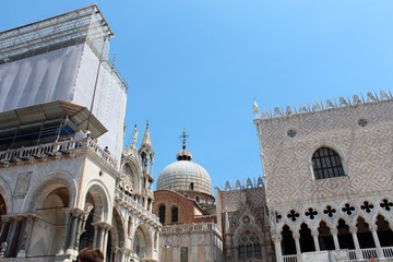 St. Mark's Bazilica and Doge's Palace, Venice, Italy