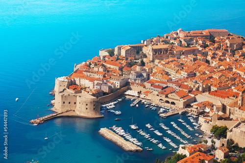 Aluminium Vestingwerk Boats at Dubrovnik old town port