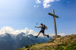 Salto in montagna