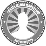 Social Media Marketing Badge Logo