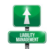 liability management road sign illustrations